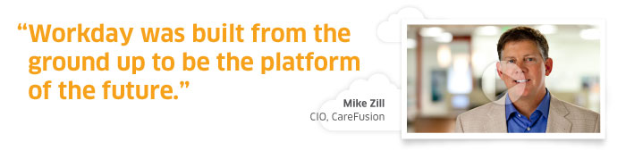 Mike Zill, CIO of CareFusion